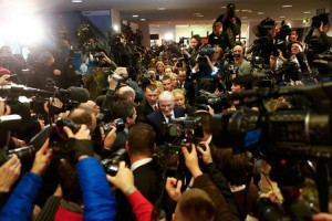 первая пресс-конференция М.Ходорковского
